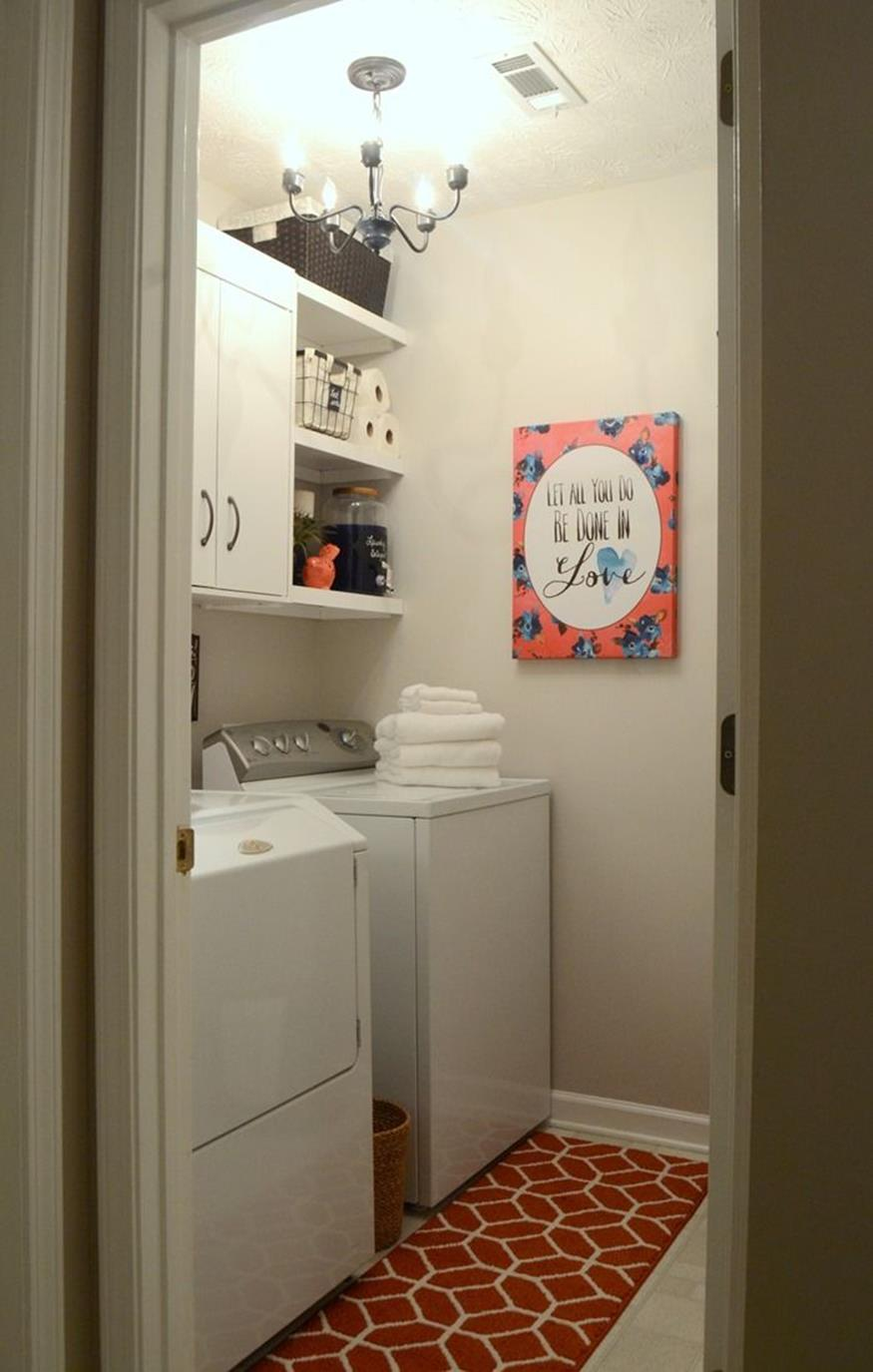 Decorating A Laundry Room On A Budget 5