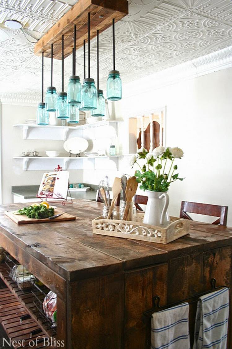 Farmhouse Dining Room Decorating Ideas 10