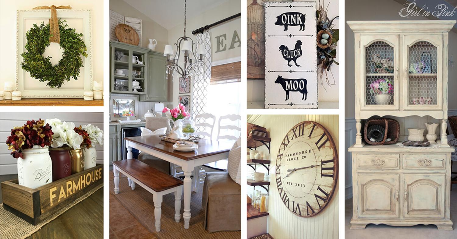 Farmhouse Dining Room Decorating Ideas 25