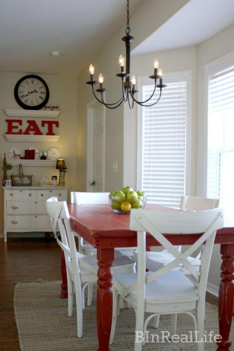 Farmhouse Dining Room Decorating Ideas 9