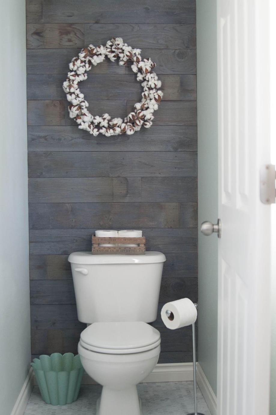Gray Half Bathroom Decorating Ideas On A Budget 20