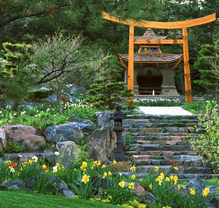 Japanese Style Garden Design Ideas 9