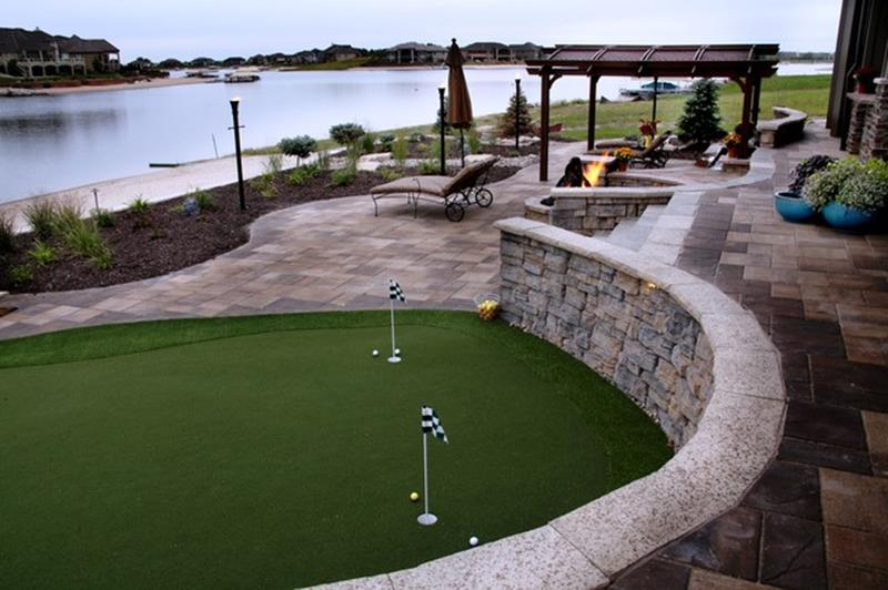Lakefront Property Landscaping Ideas 33