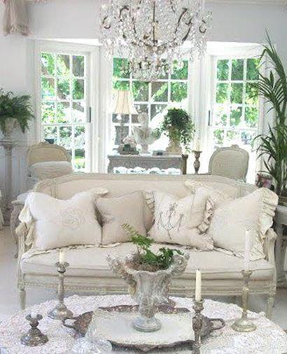 Shabby Chic French Country Decorating Ideas 2