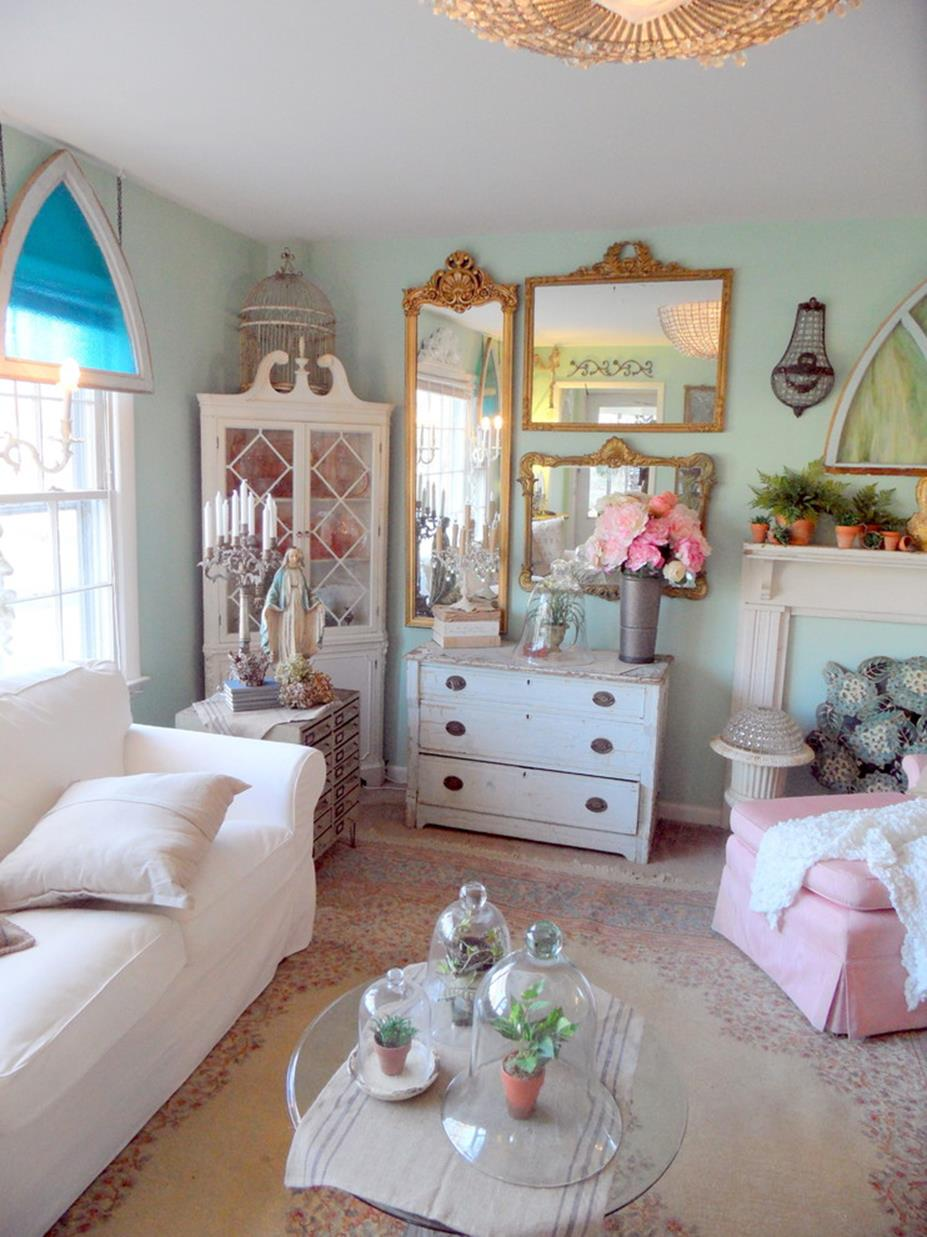 Shabby Chic French Country Decorating Ideas 38
