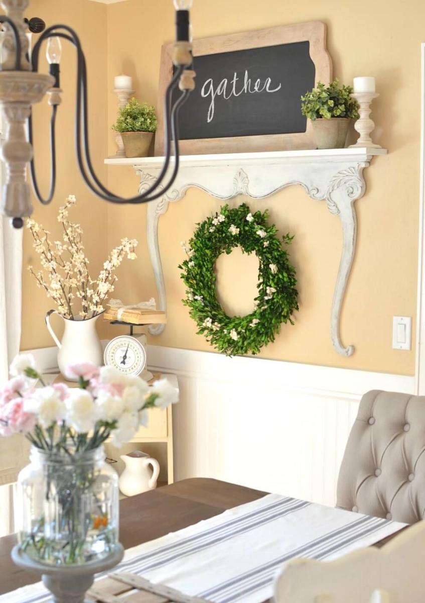 Spring Farmhouse Decorating Ideas 1