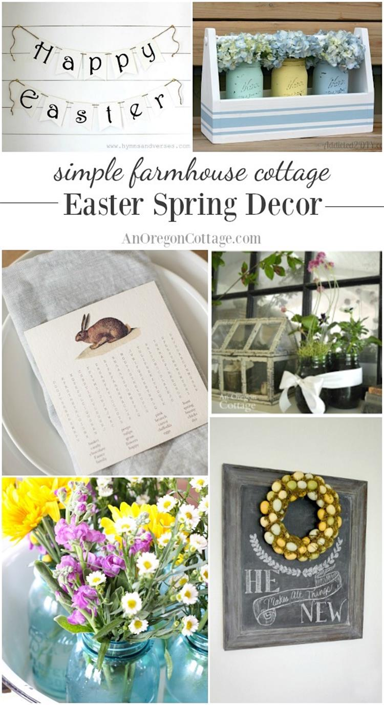 Spring Farmhouse Decorating Ideas 35
