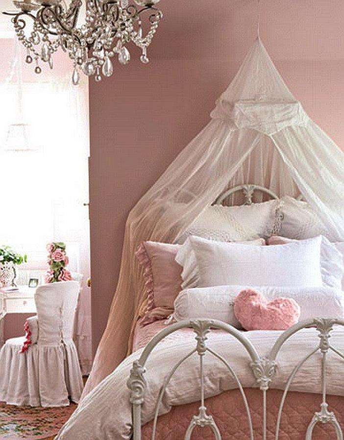 Vintage Girl Bedroom Decorating Ideas 14