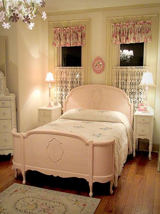 Vintage Girl Bedroom Decorating Ideas 18