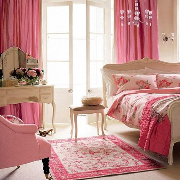 Vintage Girl Bedroom Decorating Ideas 20