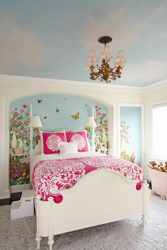 Vintage Girl Bedroom Decorating Ideas 9