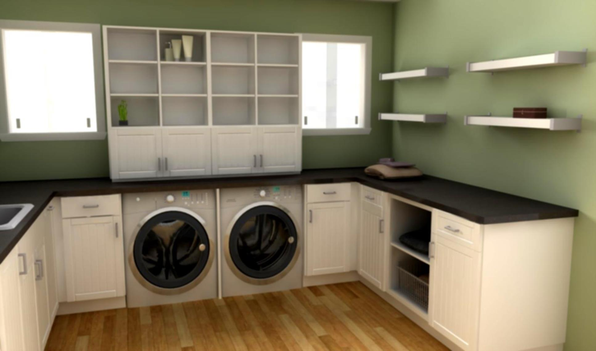 Best Cheap IKEA Cabinets Laundry Room Storage Ideas 18