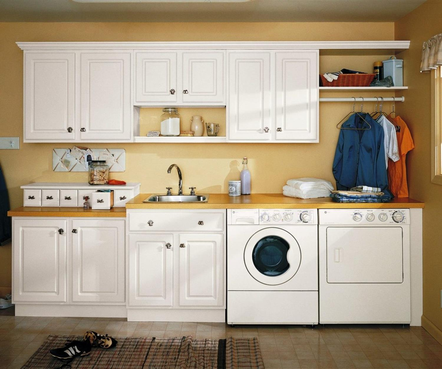 Best Cheap IKEA Cabinets Laundry Room Storage Ideas 30