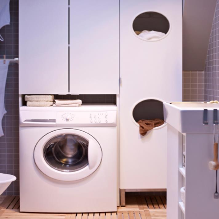 Best Cheap IKEA Cabinets Laundry Room Storage Ideas 6