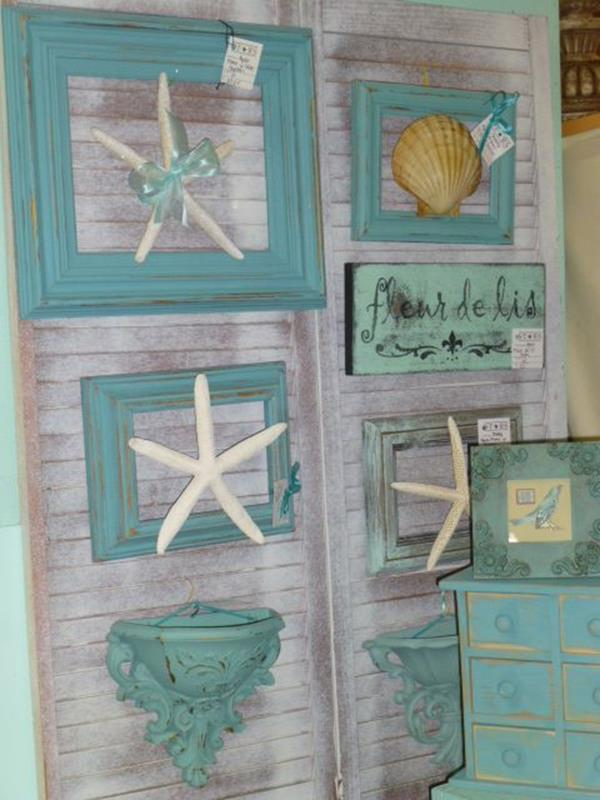 DIY Gorgeous Beach Themed Wall Decorating Ideas 32