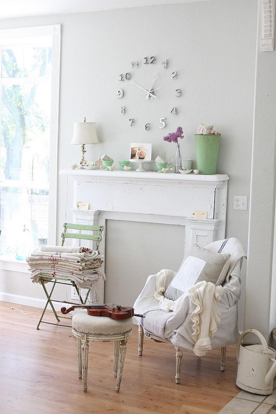 Gorgeous Shabby Chic Apartment Decorating Ideas 25