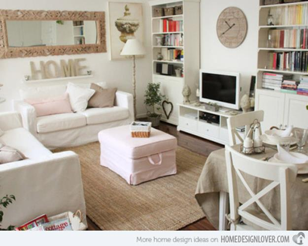 Gorgeous Shabby Chic Apartment Decorating Ideas 29