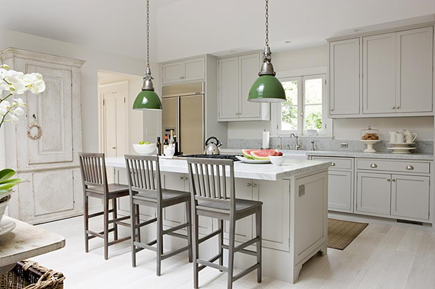 Light Grey Kitchen Cabinets Ideas 27