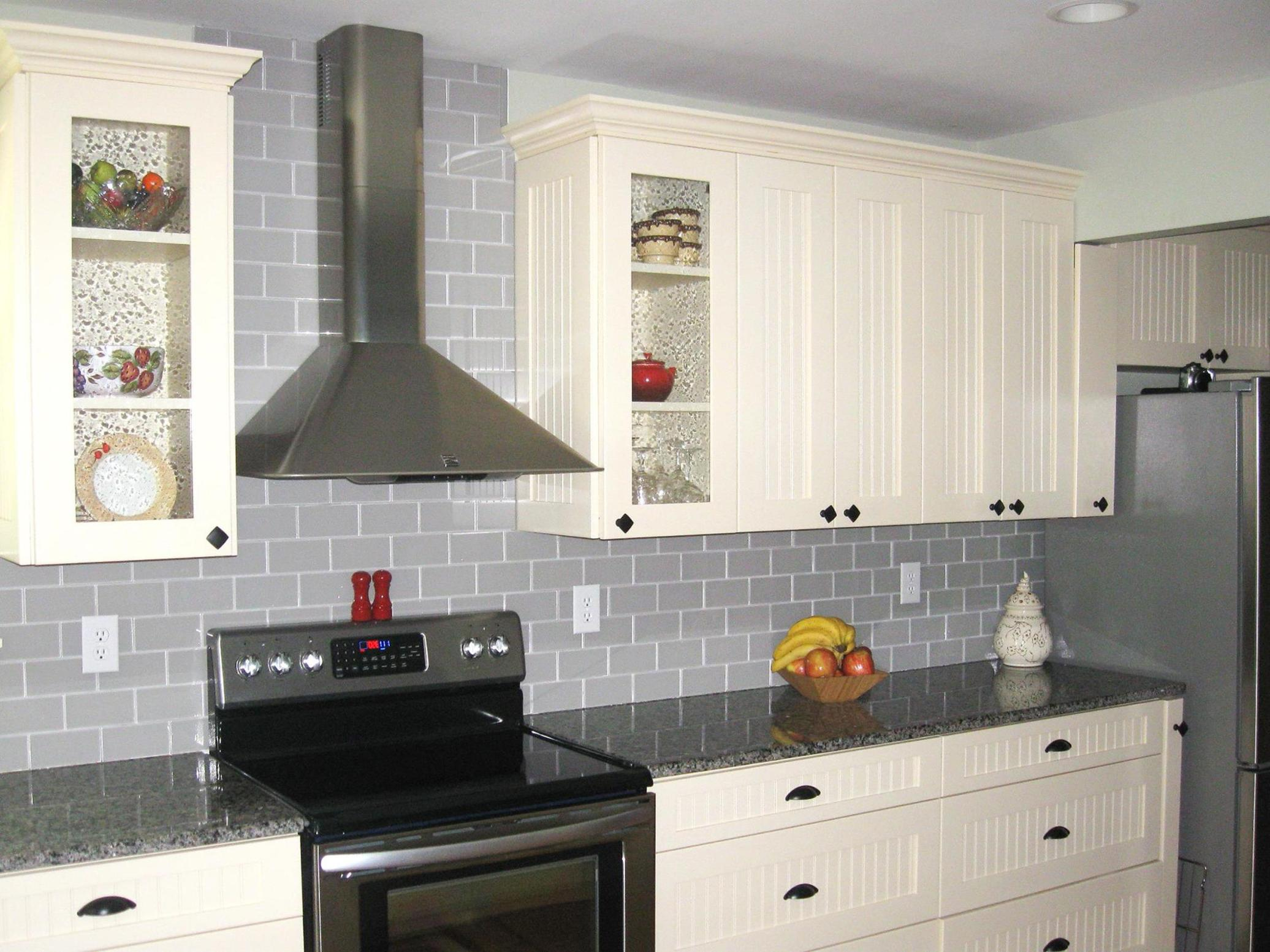 Light Grey Kitchen Cabinets Ideas 35