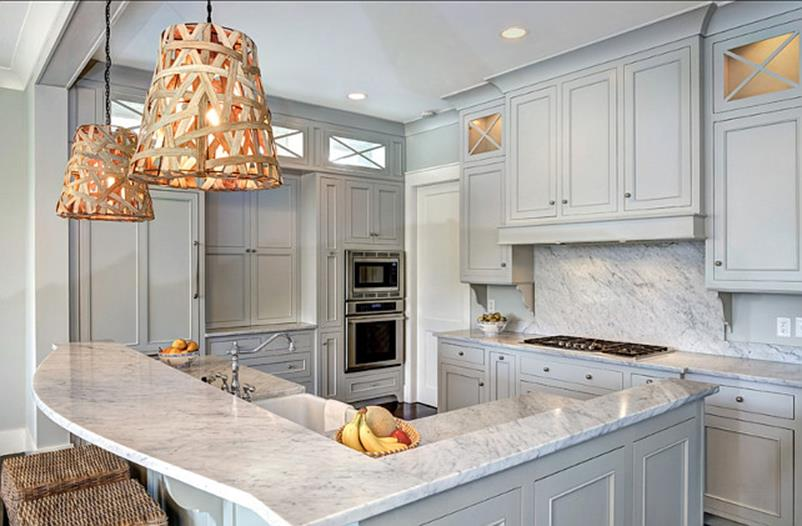 Light Grey Kitchen Cabinets Ideas 38