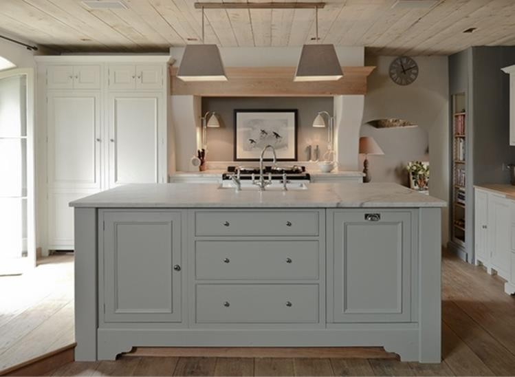Light Grey Kitchen Cabinets Ideas 48