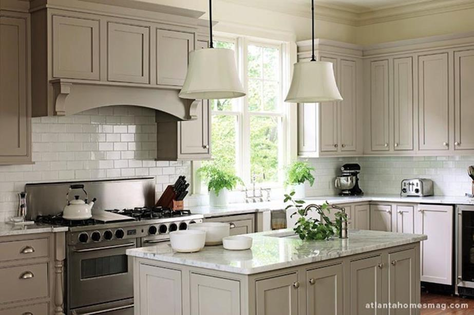 Light Grey Kitchen Cabinets Ideas 9