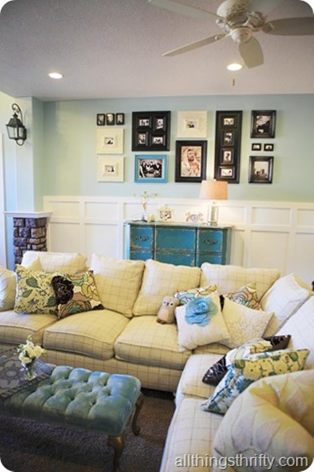 Yellow Cottage Living Room Decorating Ideas 23