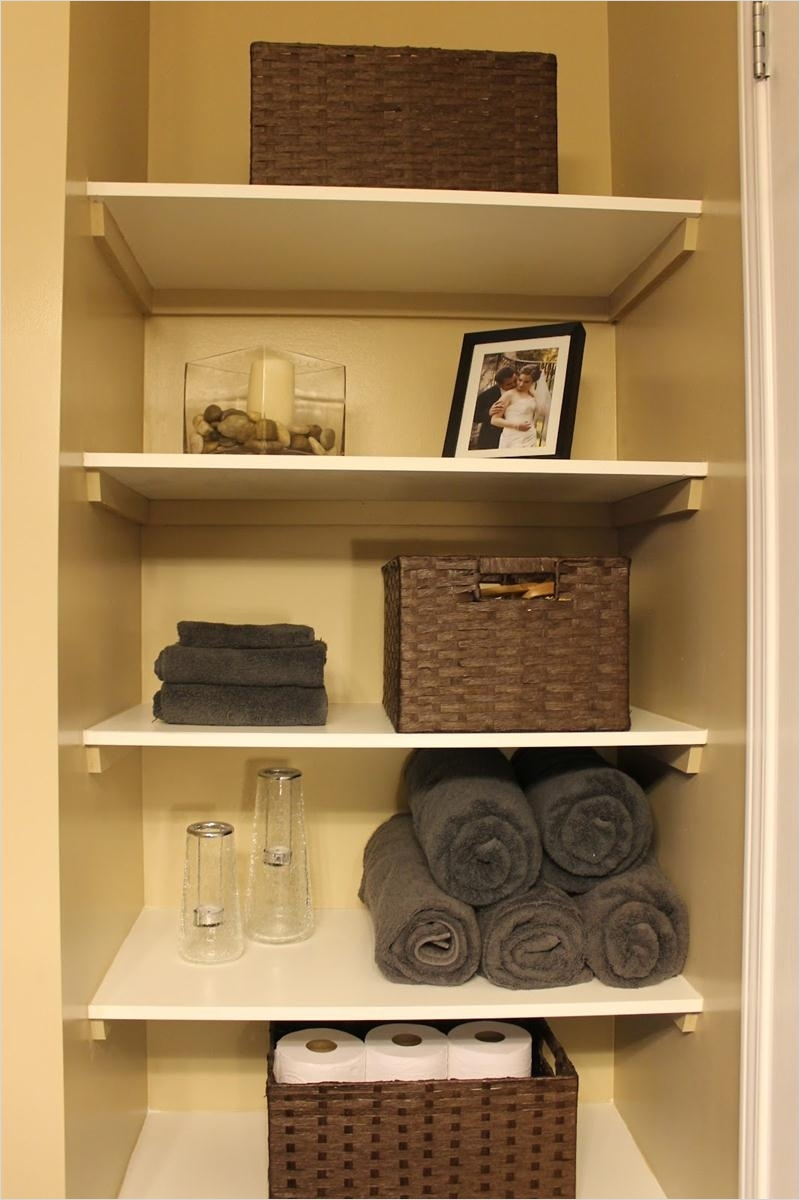 Bathroom Shelves Decorating Ideas 91 Adorable 90 Small Bathroom Shelf Decorating Ideas Decorating Inspiration Best 25 Small 5