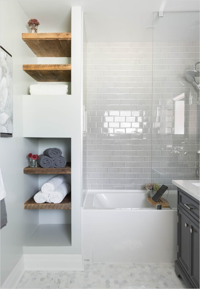 Bathroom Shelves Decorating Ideas 11 Bathroom Open Shelving [peenmedia] 8