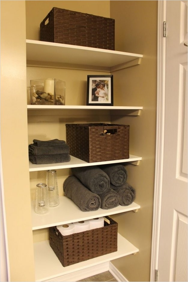 Bathroom Shelves Decorating Ideas 74 50 Unique Bathroom Shelf Decorating Ideas 8