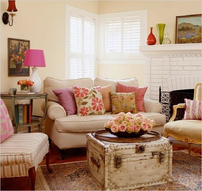 45 Amazing Ideas Country Chic Living Room 75 30 Country Chic Living Rooms for Modern Antique Feel 5