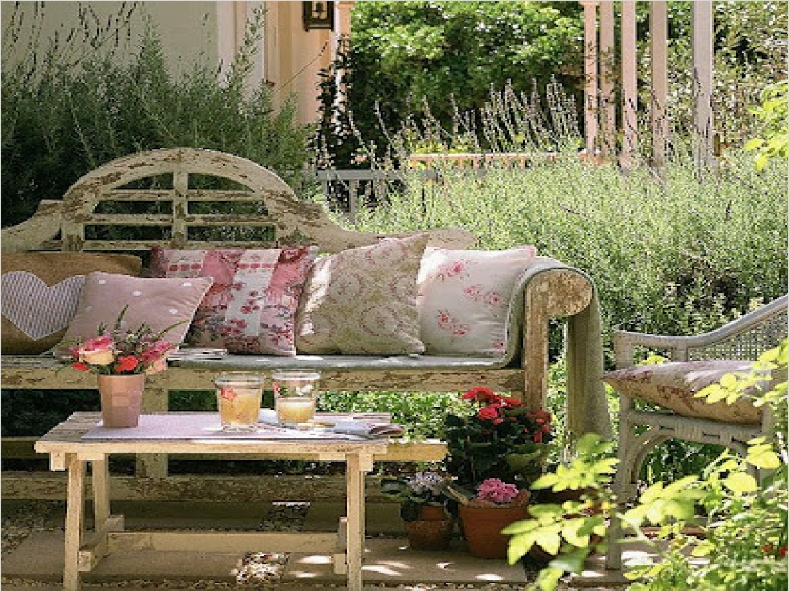 42 Amazing Ideas Country Garden Decor 91 Cottage Style Outdoor Furniture Rustic Country Garden Decor Rustic Outdoor Decor Garden Ideas 7