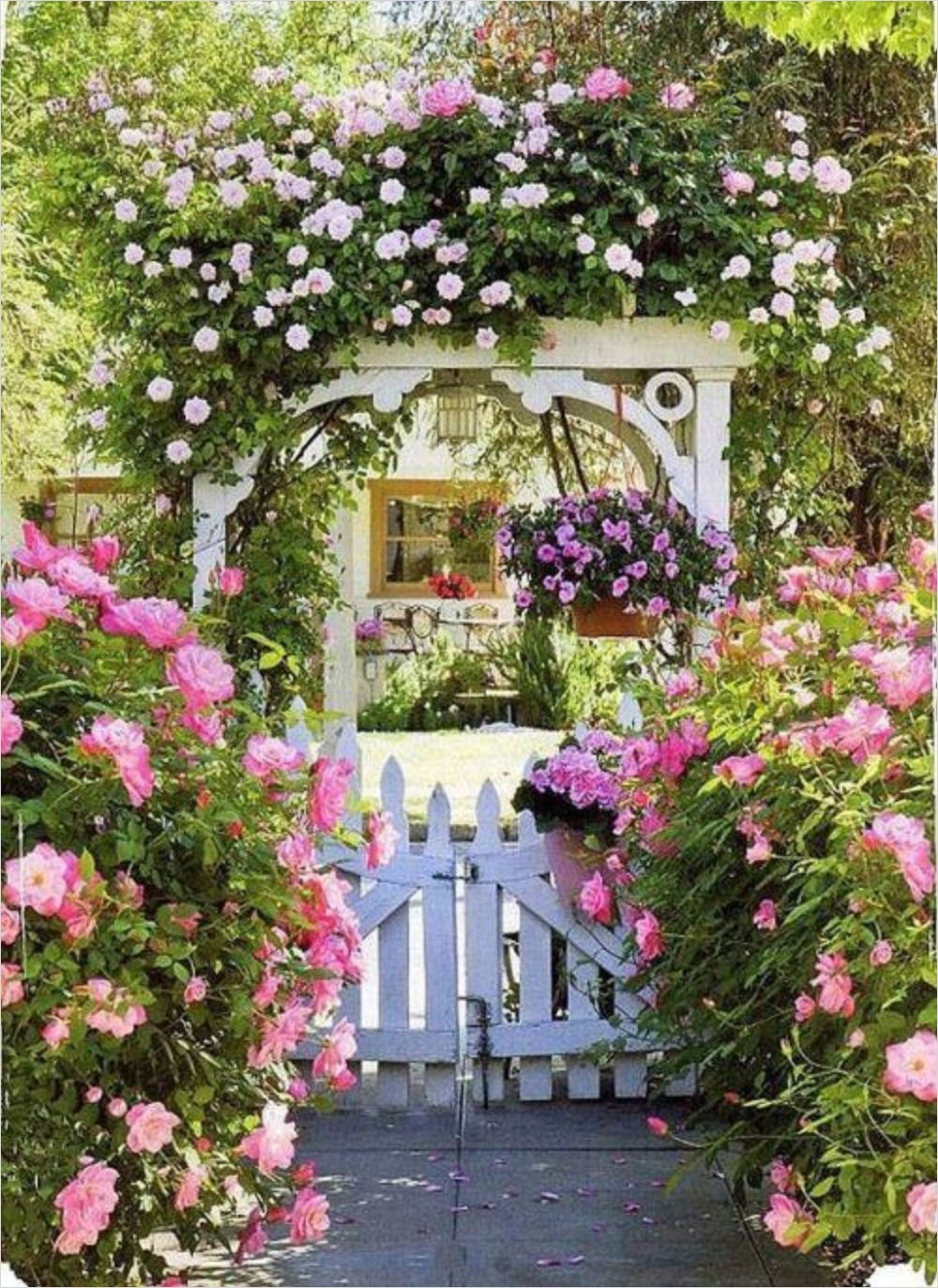 42 Amazing Ideas Country Garden Decor 64 Simple and Beautiful Country Garden Decor Ideas 27 Wartaku 9