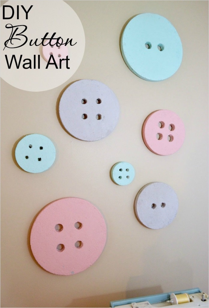 Craft Room Wall Decor 29 Diy button Wall Art for A Sewing Craft Room Create and Babble 5