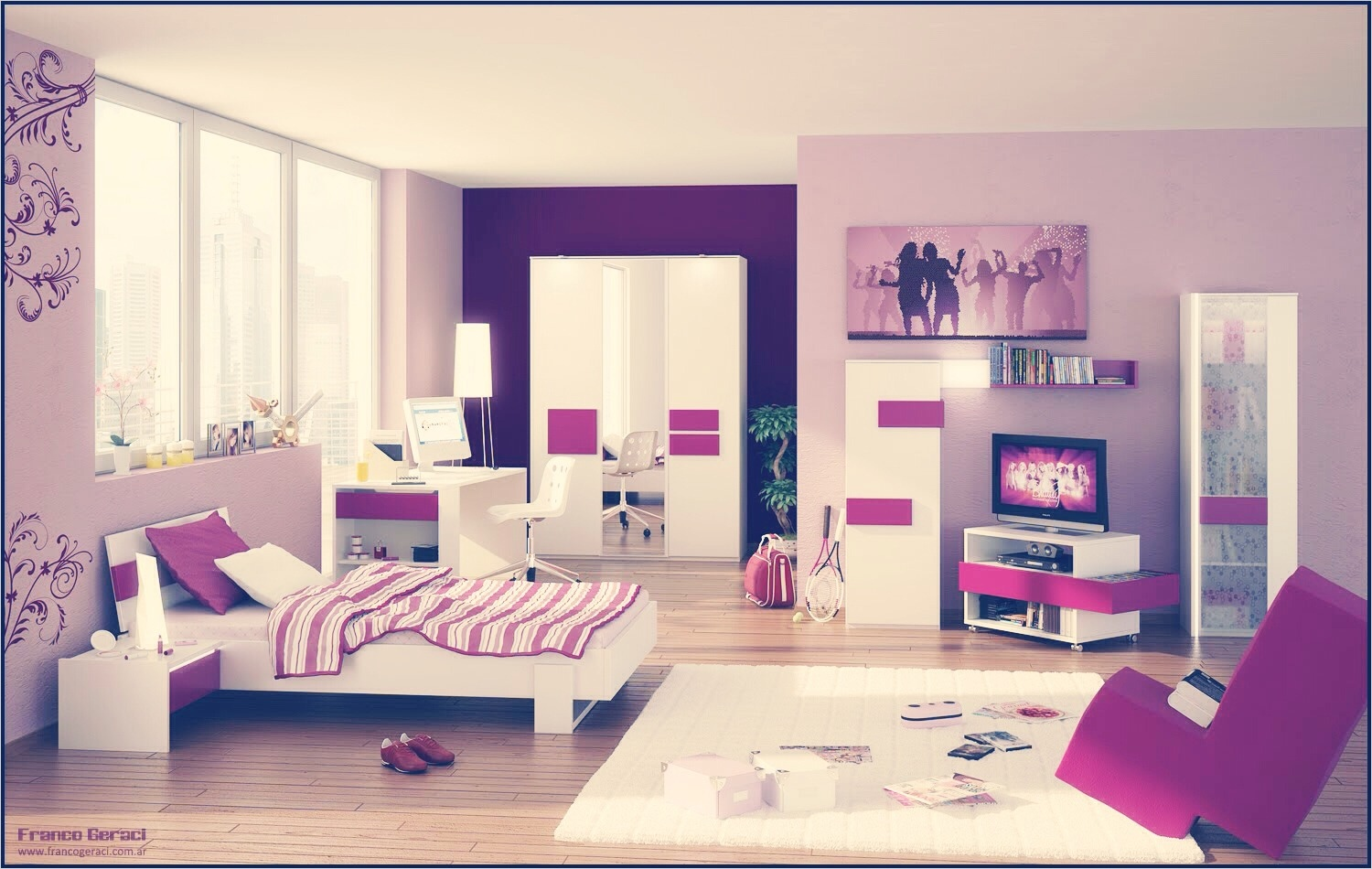 41 Amazing Dream Bedrooms for Teenage Girls 41 Dream Room for Girls Dream Romantic Bedrooms Small Dream Bedrooms for Teenage Girls Room 4