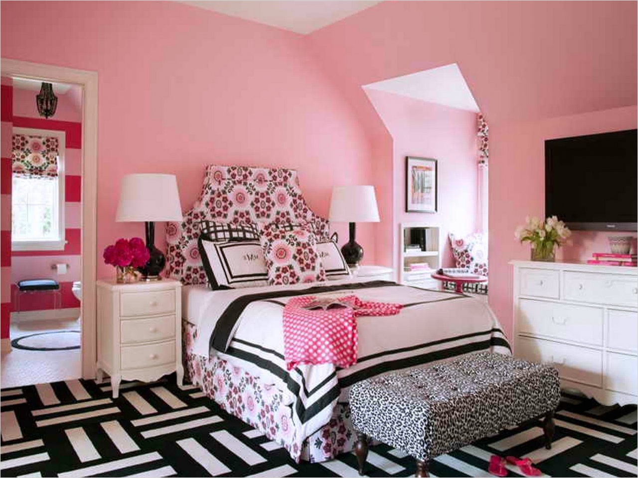 41 Amazing Dream Bedrooms for Teenage Girls 86 Rooms for Teenager Dream Bedrooms for Teenage Girls Teenage Girl Room Ideas Purple Teenager 2