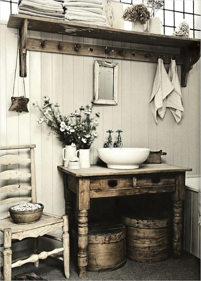 Farmhouse Chic Decorating Ideas 48 32 Cozy and Relaxing Farmhouse Bathroom Designs 6