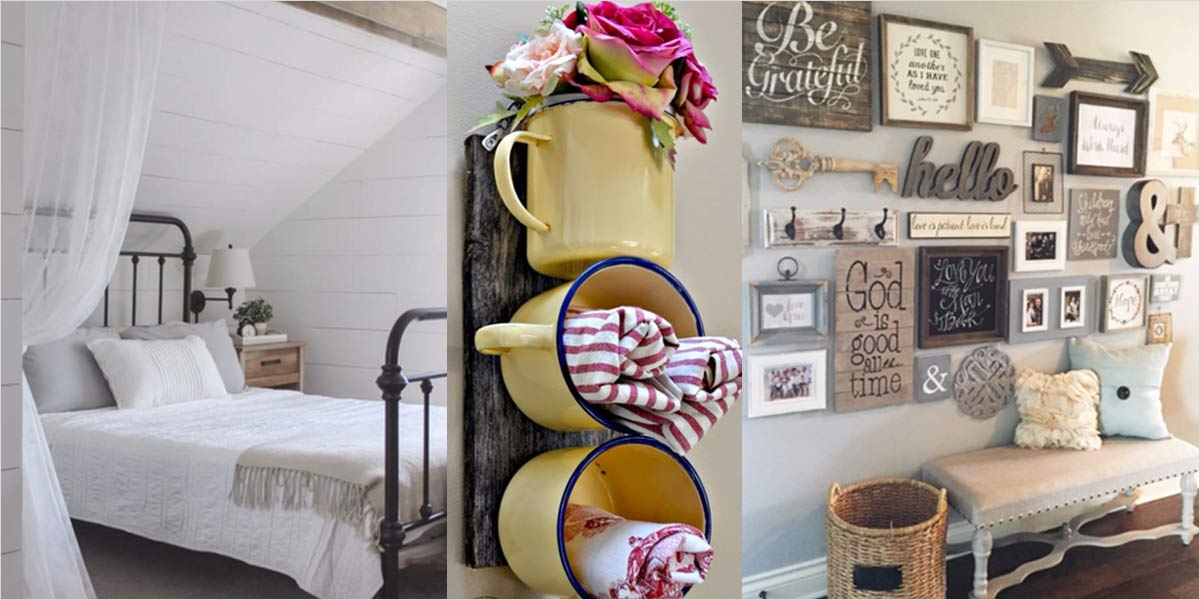 Farmhouse Chic Decorating Ideas 87 Farmhouse Decorating Interior Design 1