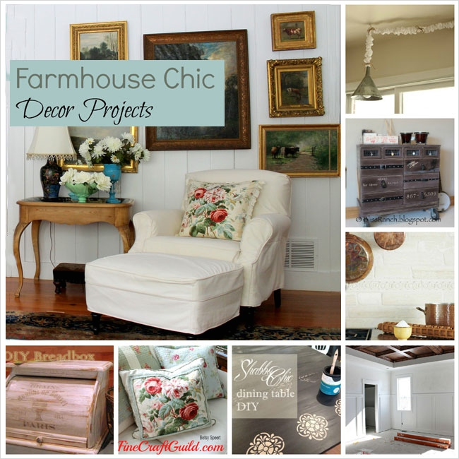Farmhouse Chic Decorating Ideas 98 Interior Design Fine Craft Guild 1 1