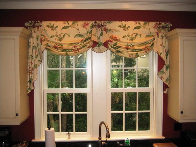 41 Perfect Farmhouse Country Kitchen Curtain Valances 42 Farmhouse Country Kitchen Curtain Valances — Decor for Homesdecor for Homes 6