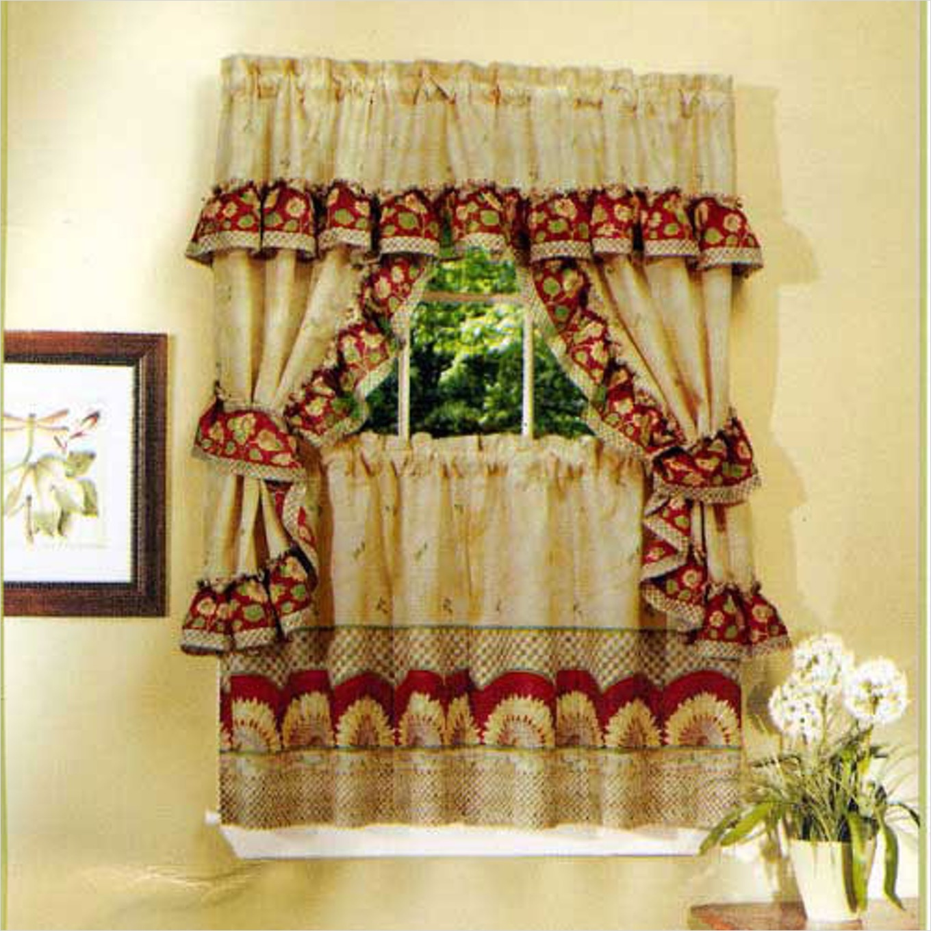 41 Perfect Farmhouse Country Kitchen Curtain Valances 12 Country Style Curtains 100 Best 25 French Cottage Decor Best 25 Farmhouse Dining R Country 3