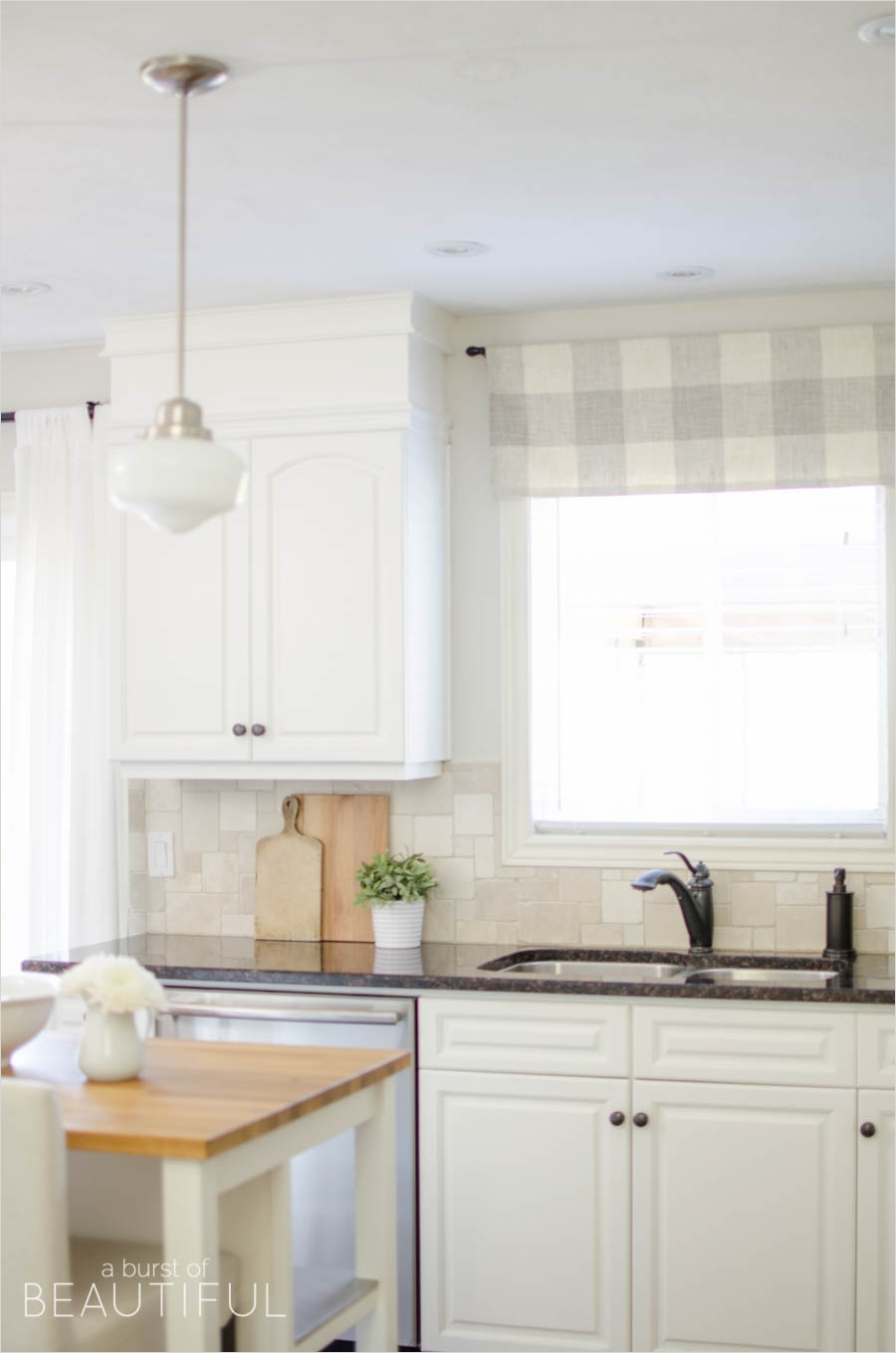 41 Perfect Farmhouse Country Kitchen Curtain Valances 88 Farmhouse Kitchen Window Valance Tutorial A Burst Of Beautiful 7