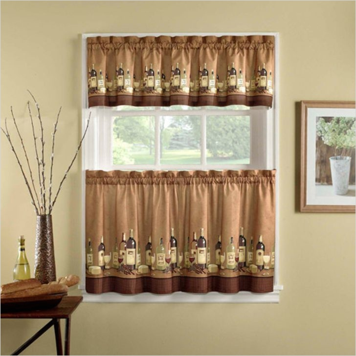 41 Perfect Farmhouse Country Kitchen Curtain Valances 94 Walmart Curtains Valances and Tiers Farmhouse Country Kitchen Curtain Sunflower From Walmart 4