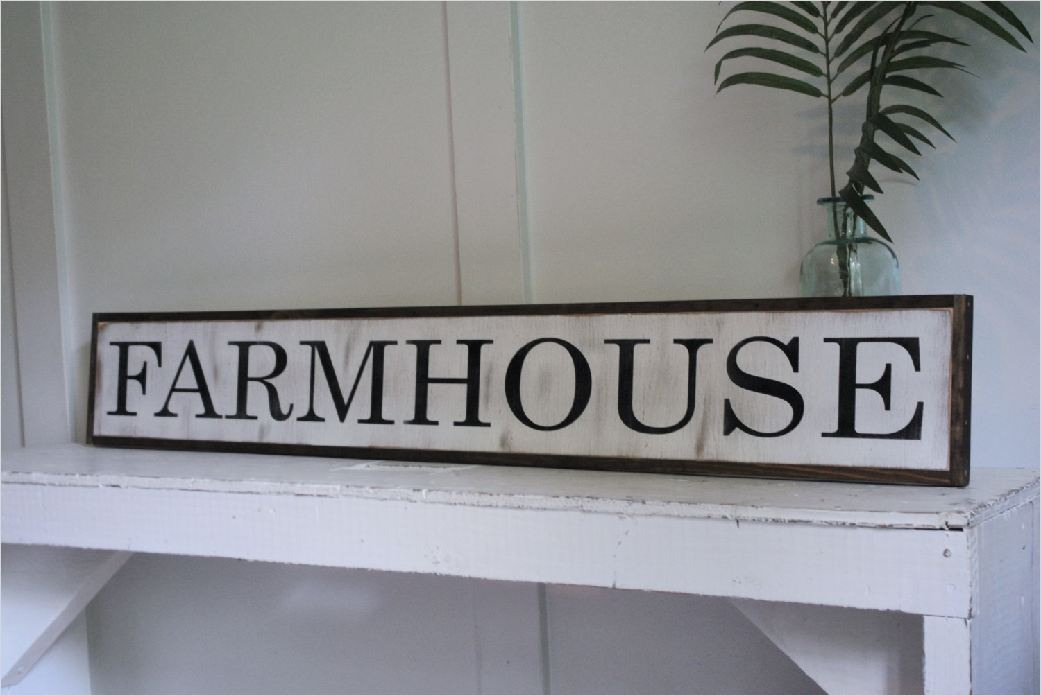 44 Gorgeous Farmhouse Wall Decor 79 Farmhouse 7x48 Sign Distressed Shabby Chic Wooden Sign Painted Wall Art 2