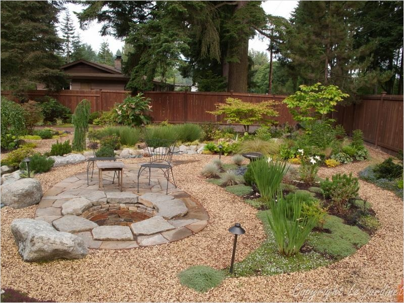 43 Perfect Gravel Landscaping Ideas 42 Bloombety Creative Gravel Patios Beautiful Design Gravel Patios for Landscaping 8