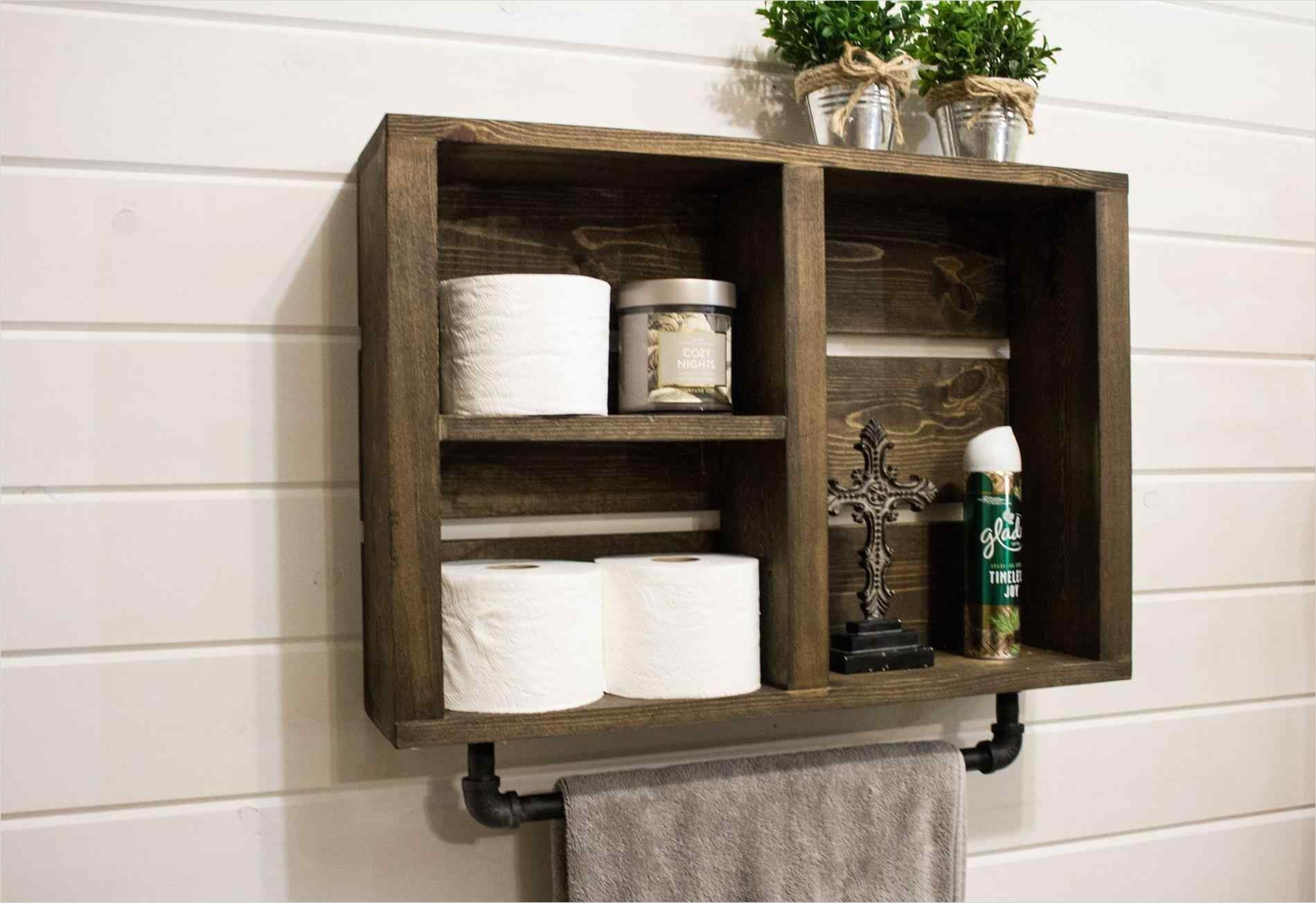 44 Creative Ideas Rustic Bathroom Walls Shelf 89 [nickbarron] 100 Rustic Bathroom Wall Shelves My Blog 9