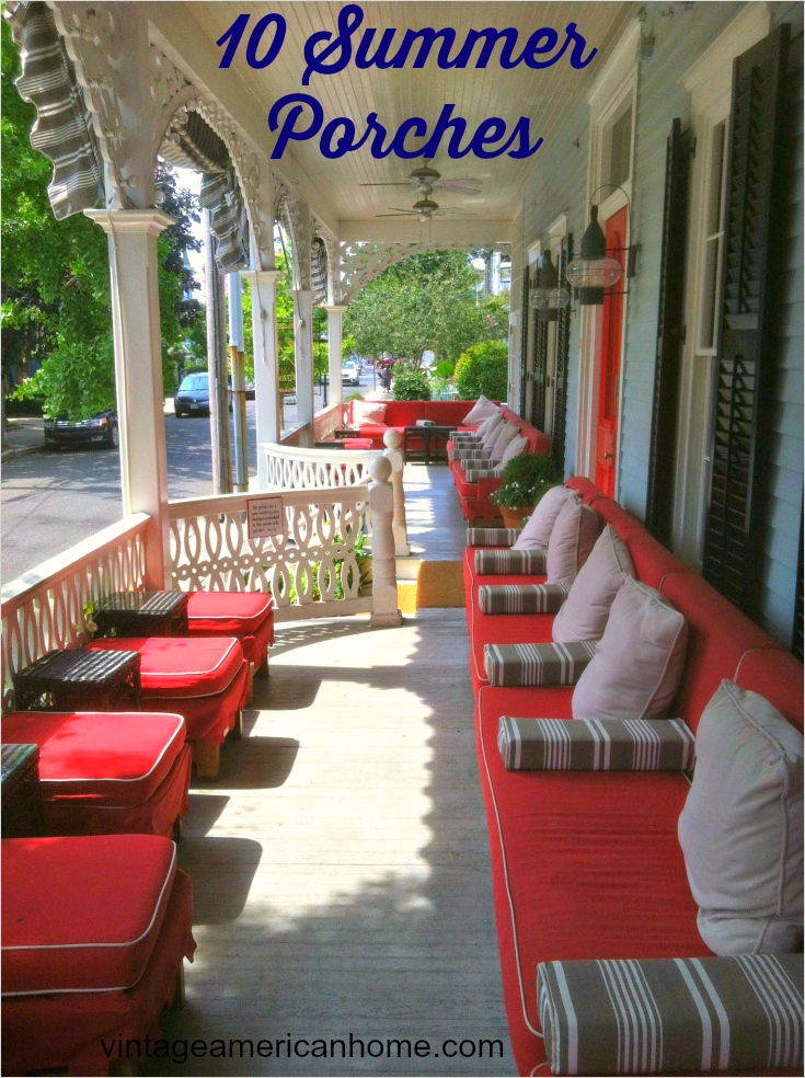 40 Beautiful Summer Porch Decorating Ideas 54 10 Front Porch Decorating Ideas Vintage American Home 7