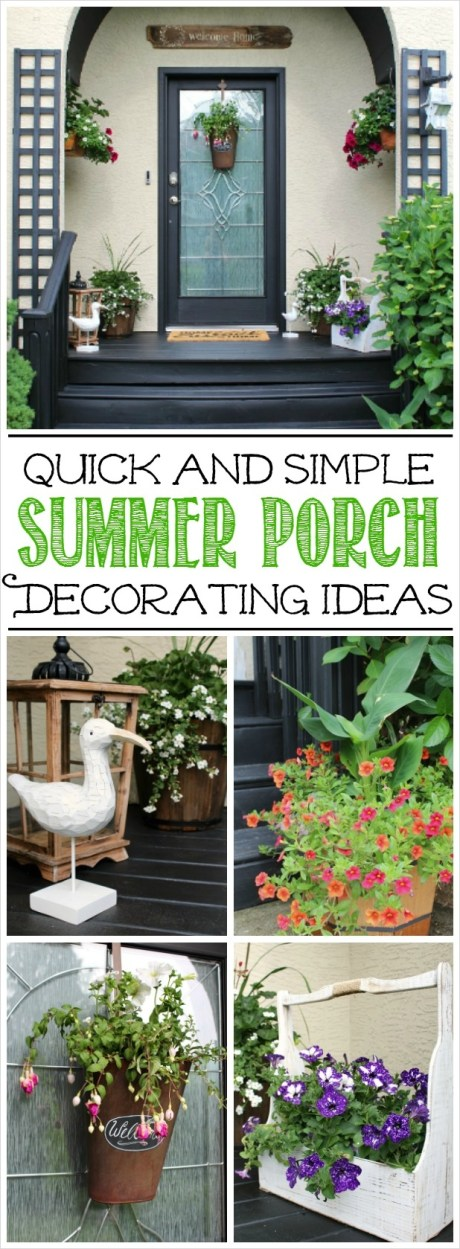 40 Beautiful Summer Porch Decorating Ideas 96 Summer Front Porch Decorating Ideas Clean and Scentsible 3