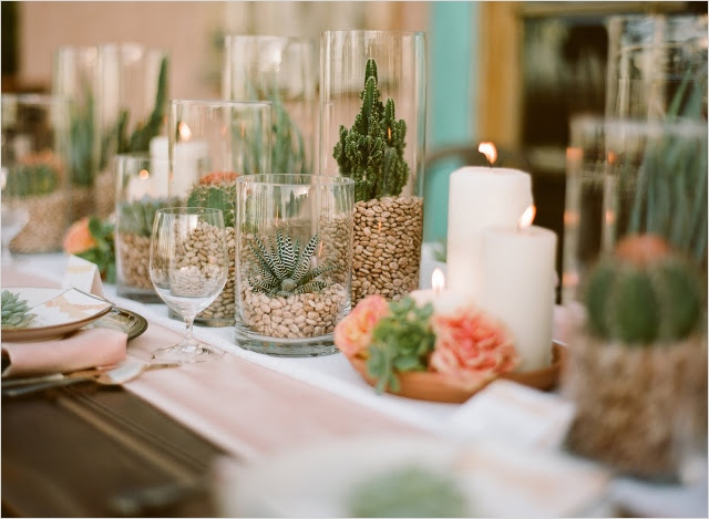 43 Beautiful Cactus Centerpiece Ideas 65 Spanish Bridal Fashion with Mexican Wedding Inspiration Papel Picado and Succulents 6