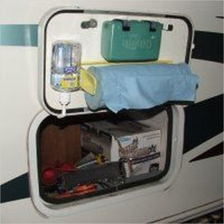 40 Diy Rv Camper Storage Ideas 23 Storage Ideas Travel Trailers 11 ⋆ Trendxyz 9